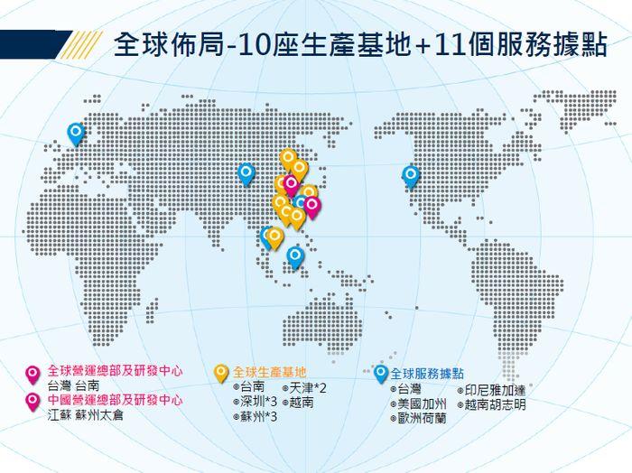 桂盟全球佈局